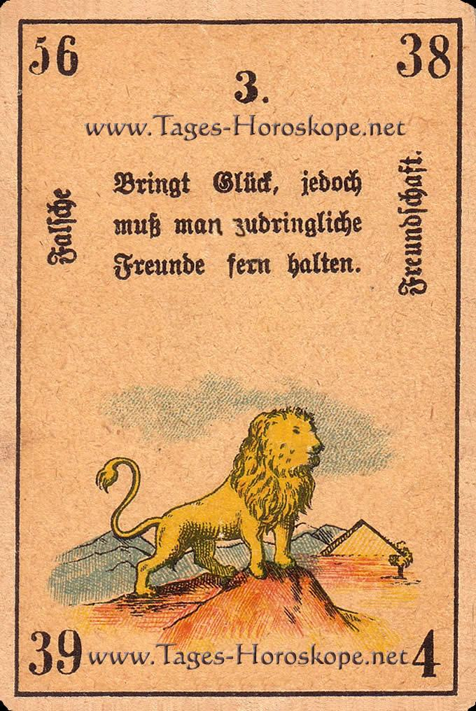 Der Löwe ist Ihr Kabbala Horoskop für die Frau für heute